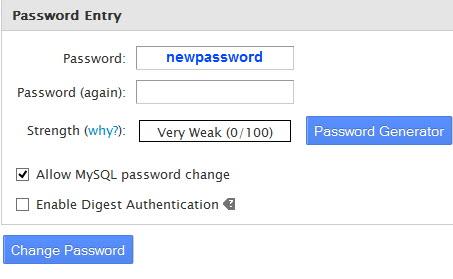 چگونه رمز اکانت هاست را در whm تغییر دهیم؟